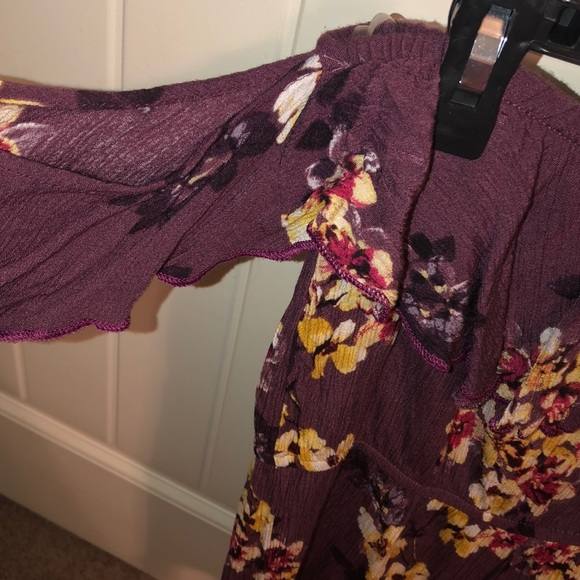 Charlotte Russe Other - Cute Floral Romper